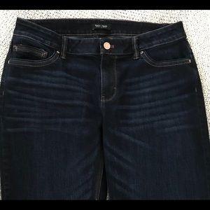 White House Black Market Jeans dark wash Size 8